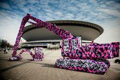 Street Art w Polsce: Katowice Street Art Festival 2012 - Pierwsze Prace