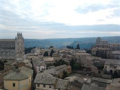 View from the top of Torre del Moro, Orvieto