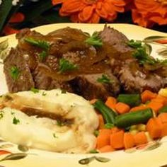 London Broil Braised in Stout Recipe