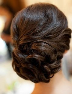 wedding low bun updo with jewel headband | wedding chignon