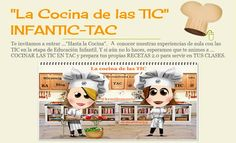 "Iniciación a la robótica:  ""La Cocina de las TIC""  INFANTIC-TAC"