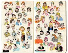 carnet de croquis de camille jourdy camillejourdy.canalblog.com
