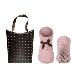 SOXO Women's set: chenille socks with matching bag | WOMEN \ Socks | SOXO socks, slippers, ballerina, tights online shop