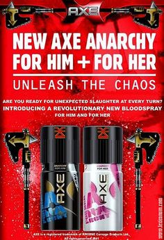 NEW AXE ANARCHY - UNLEASH THE CHAOS. Read more about it here:    http://wh40k.lexicanum.com/wiki/Khorne#.UAao9pH3qf4