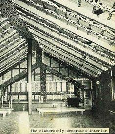 The Nuhaka Meeting House - Gisborne Photo News - No 77 : November 1960 November 3, Louvre, Building, Travel, Voyage, Buildings, Viajes, Traveling, Trips