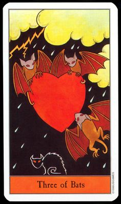 "From ""The Halloween Tarot"" by Kipling West and Karin Lee.  This has been my deck for years, and I love it to bits."