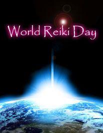 World Reiki Day.  (last Saturday in April each year)
