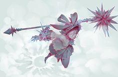 Frozen Maiden, Tim Löchner on ArtStation at https://www.artstation.com/artwork/nvzqe