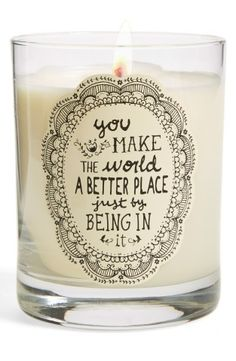 """Natural Life Candle. The """"smell good"""" gift:)"""