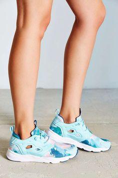 buy popular 066b8 c981f Reebok FuryLite Watercolor - Google Search Reebok Furylite, Running  Sneakers, Sneakers Nike, Liner