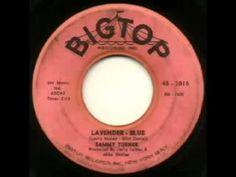 """Sammy Turner - """"Lavender Blue"""" July 6 1959"""