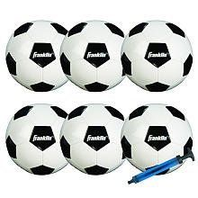 Franklin Sports 6 - Pack Competition Size Soccer Ball With Pump - Size 3 by Unknown, http://www.amazon.ca/dp/B00GTPN21O/ref=cm_sw_r_pi_dp_2KHGtb1ED7E3A