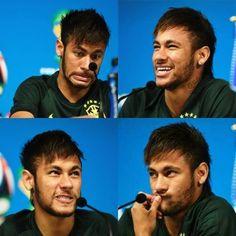 cute haha. Neymar jr