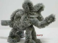 How to make a Chenille Pipe cleaner Elephant.