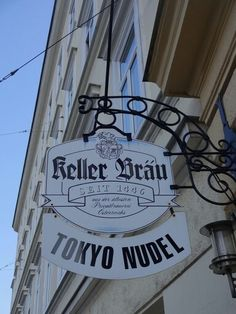 Vienna Restaurant Sign