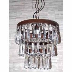 Colgantes Con Caireles Oxido - $ 3.350,00 Chandelier, Ceiling Lights, Lighting, Home Decor, Arabesque, Vestidos, Preppy Dorm Room, Hanging Lamps, Houses
