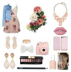 """""""Roses"""" by lovepeacelove-723 ❤ liked on Polyvore featuring Lipsy, Acne Studios, Kendra Scott, Dina Mackney, Lime Crime, NARS Cosmetics, Yves Saint Laurent, Essie, Ted Baker and Decree"""