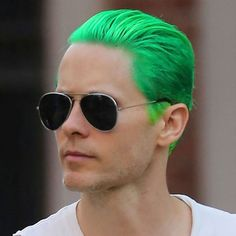 Jared Leto Green Hair