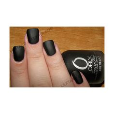 Orly - Matte Vinyl ❤ liked on Polyvore featuring nails