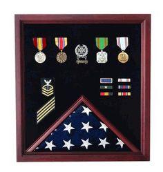 Flag and Medal Display Cases   Flag Display Cases, Burial Flag Frames, Flag Medal
