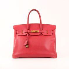 Hermès Birkin 35 Epsom Red