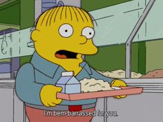 The Simpsons Way of Life Ralph Wiggum, Funny Reaction Pictures, Cool Cartoons, Way Of Life, Bart Simpson, Animation, Puppet, Wallpaper, Memes