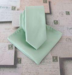 Mens Ties. Dusty Mint JCrew Inspired Dusty Shale by TieObsessed