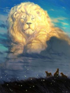 cecil-lion-king-tribute-painting-speed-video-disney-artist-aaron-blaise-9