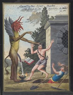 Compendium Of Demonology and Magic (ca. 1775) | The Public Domain Review