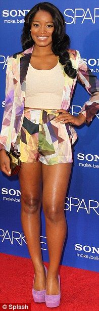 Tika Sumpter Boyfriend Jason Derulo | Guestlist: Actress Garcelle Beauvais, singer Jojo and actress and ...