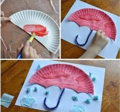 paper-plate-umbrella-crafts-for-kids-2 « funnycrafts