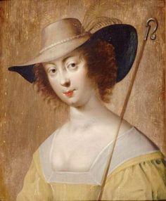 Portrait of a Lady as a Shepherdess,c.1630 Claude Deruet