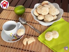Biscotti lime e cocco