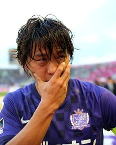 [ J1:第33節 広島 vs C大阪 ] これまでJ2降格などいろいろな苦しい経験もしてきただけに、本当に嬉しい優勝となった。  2012年11月24日(土):エディオンスタジアム広島