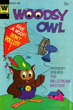 WOoDsY OwL--- The Millstream Mystery