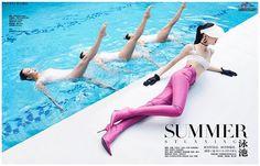 summer stunning  #harpersbazaarcn #juneissue #summer #balenciaga #dior #maxmara #deyeen  via HARPER'S BAZAAR CHINA MAGAZINE OFFICIAL INSTAGRAM - Fashion Campaigns  Haute Couture  Advertising  Editorial Photography  Magazine Cover Designs  Supermodels  Runway Models