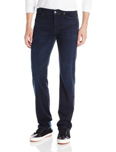 7 For All Mankind Mens Slimmy Slim Straight Leg Luxe Performance Jean Blue Ice, Blue Ice, Workout Tops, Pants For Women, Slim, Legs, Womens Fashion, Cotton, Shirts, Jeans Belts, Ice