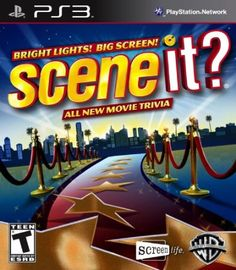 Scene It? Bright Lights! Big Screen! PS3 From $4.08 Amazing Discounts Your #1 Source for Video Games, Consoles & Accessories!  Click On Pins For More Info Multicitygames.com