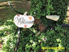 Fall Bicycle www.Gardenchick.com
