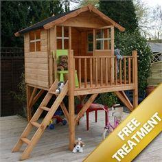 7' x 5' Tower playhouse