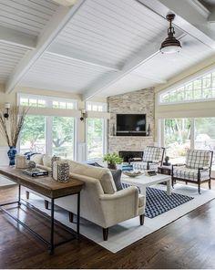 Corner Fireplace. Living Room Corner Fireplace. Corner Fireplace Ideas.  #CornerFireplace Kim E