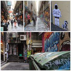 street art in melbourne's lanes & arcades