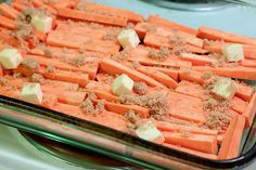 Glazed Sweet Potato Sticks by Back to the Cutting Board, via Flickr