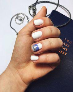 Manicure маникюр зима лето осень весна winter summer autumn spring на конторские ногти design