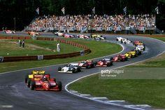 Mario Andretti - Lola T800 Cosworth - Newman-Haas Racing - Escort Radar Warning 200 - 1984 PPG Indy Car World Series, round 11 - Crédits : Bob Harmeyer - © GettyImages