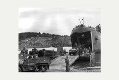 US servicemen training for D Day at Slapton Sands, Devon