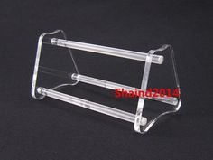 2 Pcs Dental Acrylic Stand Holder for Orthodontic Pliers Forceps Scissors NEW #Ruier