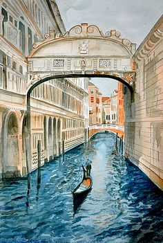 bridge of sighs - I would like to ride in a gondola under the bridge of sigh with my prince. Beautiful Places To Visit, Oh The Places You'll Go, Wonderful Places, Beautiful World, Places To Travel, Sigh In, Rome Hotels, Dream Vacations, Italy Travel