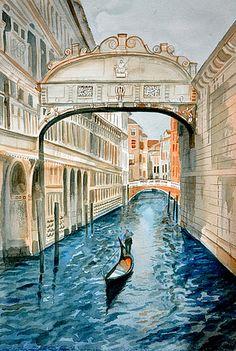 ✯ Bridge of Sighs - Italy