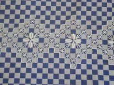 Resultado de imagen para bordado xadrez